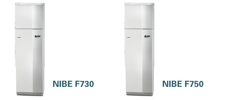 NIBE F730 en F750